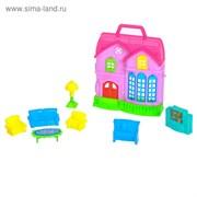 Дом для кукол с аксессуарами, МИКС 1439623