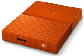 """(1014352) Внешний жесткий диск USB3 2TB EXT. 2.5"""" ORANGE WDBLHR0020BOR-EEUE WDC"""