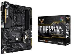 (1014218) Материнская плата Asus TUF B450-PLUS GAMING Soc-AM4 AMD B450 4xDDR4 ATX AC`97 8ch(7.1) GbLAN RAID+DV