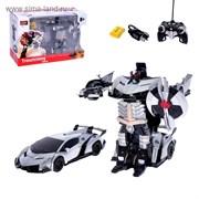 """(2394298) Робот-трансформер радиоуправляемый """"Автобот"""", с аккумуляитором, масштаб 1:22, МИКС   2394298"""
