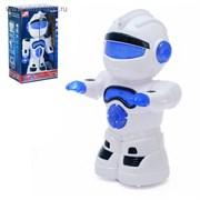 Робот «Космобот», ездит, произвольное движение, световые и звуковые эффекты, работает от батареек