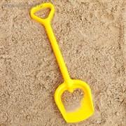 Лопатка №3, цвет жёлтый, 40 см