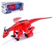 (3306000) Динозавр-робот DRAGON, работает от батареек, свет и звук, МИКС 3306000