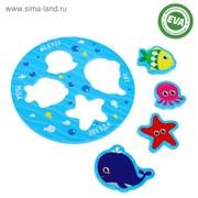 """(3546072) Набор игрушек для ванны """"Морские жители""""    3546072"""