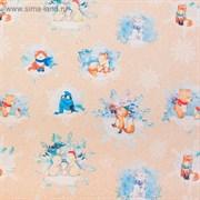 Бумага упаковочная крафтовая «Волшебные персонажи», 50 × 70 см