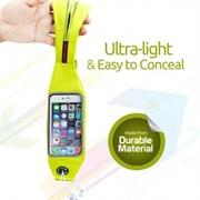 (1014415) Чехол спортивный Promate LiveBelt-2 для смартфонов (green)