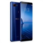 "(1014641) Смартфон Nubia Z17S 8Gb/128Gb синий моноблок 3G 4G 2Sim 5.73"" 1080x2040 Android 7.1 23Mpix 802.11abgnac BT GPS GSM900, 1800 GSM1900 TouchSc MP3"