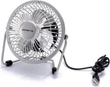 (1013037) Вентилятор настольный Polaris PUF 1012S 2.5Вт скорост.:1 белый