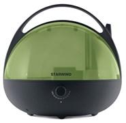(1014670) Увлажнитель воздуха Starwind SHC3415 25Вт (ультразвуковой) черный/зеленый