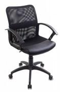 (1014506) Кресло Бюрократ CH-590/BLACK спинка сетка черный сиденье черный искусственная кожа