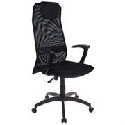 (1014561) Кресло руководителя Бюрократ KB-8/BLACK черный TW-01 TW-11 сетка