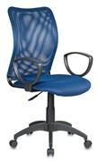 (1014509) Кресло Бюрократ CH-599/DB/TW-10N спинка сетка темно-синий сиденье темно-синий TW-10N