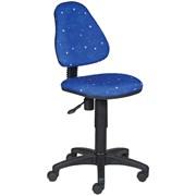 (1014550) Кресло детское Бюрократ KD-4/Cosmos синий космос Cosmos