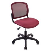 (1014484) Кресло Бюрократ CH-1296NX/CHERRY спинка сетка темно-бордовый сиденье бордовый