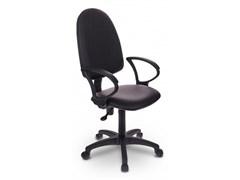 (1014490) Кресло Бюрократ CH-1300/OR-16 черный Престиж+ искусственная кожа