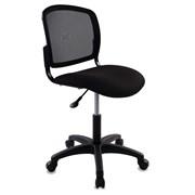 (1014482) Кресло Бюрократ CH-1296NX/BLACK спинка сетка черный сиденье черный