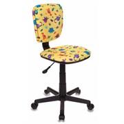 (1014524) Кресло детское Бюрократ CH-204NX/DINO-Y желтый динозаврики