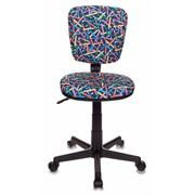 (1014527) Кресло детское Бюрократ CH-204NX/PENCIL-BL синий карандаши