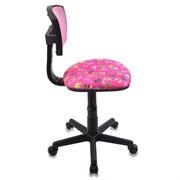(1014535) Кресло детское Бюрократ CH-299-F/PK/FLIPFLOP_P спинка сетка розовый сланцы