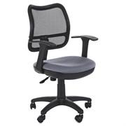 (1014513) Кресло Бюрократ CH-797AXSN/26-25 спинка сетка черный сиденье серый 26-25