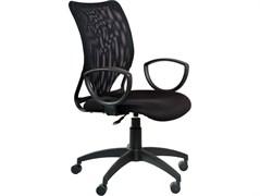 (1014510) Кресло Бюрократ CH-599AXSN/TW-11 спинка сетка черный сиденье черный TW-11