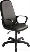 (1014557) Кресло руководителя Бюрократ CH-808AXSN/Or-16 черный Or-16 искусственная кожа