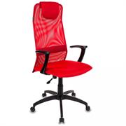 (1014562) Кресло руководителя Бюрократ KB-8/R/TW-97N красный TW-35N TW-97N сетка