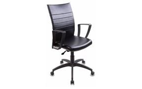 (1014504) Кресло Бюрократ CH-400/BLACK черный искусственная кожа