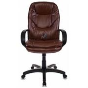 (1014555) Кресло руководителя Бюрократ CH-1868/NUT коричневый искусственная кожа (пластик черный)