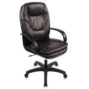 (1014554) Кресло руководителя Бюрократ CH-1868/COFFEE темно-коричневый искусственная кожа (пластик черный)