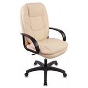 (1014553) Кресло руководителя Бюрократ CH-1868/BEIGE бежевый искусственная кожа (пластик черный)