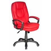 (1014559) Кресло руководителя Бюрократ CH-868AXSN/RED сиденье красный искусственная кожа (пластик темно-серый)
