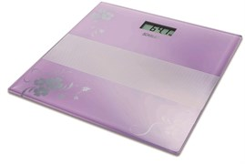 (1010873) Весы напольные электронные Scarlett SC-BS33E060 макс.150кг фиолетовый/рисунок