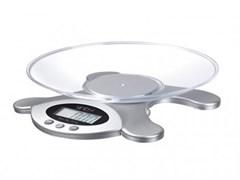(1010867) Весы кухонные электронные Sinbo SKS 4514 макс.вес:3кг серебристый