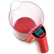 (1010868) Весы кухонные электронные Sinbo SKS 4516 макс.вес:2кг красный