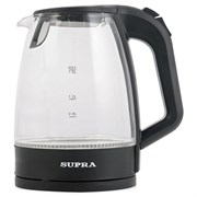(1013022) Чайник Supra KES-2185 1.8л. 2200Вт черный (стекло)