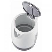 (1013019) Чайник Supra KES-1724 1.7л. 2200Вт белый/серый (пластик)