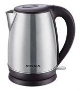(1013020) Чайник Supra KES-1838 1.8л. 2200Вт серебристый (металл)