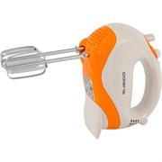 (1014571) Миксер ручной Polaris PHM 4026 400Вт белый/оранжевый