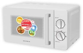 (1013032) Микроволновая Печь Supra MWS-2103MW 21л. 700Вт белый