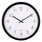(1012995) Часы настенные аналоговые Hama PG-350 H-113976 черный/белый