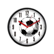 (1012994) Часы настенные аналоговые Бюрократ WallC-R29P черный/белый