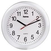 (1012997) Часы настенные аналоговые Hama PP-250 H-113921 белый