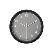 (1014693) Часы настенные аналоговые Hama Pure серый