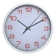 (1014695) Часы настенные аналоговые Бюрократ WallC-R07P белый