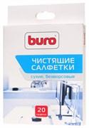 (1014839) Салфетки Buro BU-Udry для удаления пыли коробка 20шт сухих