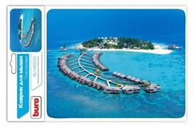 (1014832) Коврик для мыши Buro BU-M10020 рисунок/тропический отель