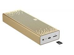(1014798) Колонка порт. Xiaomi Mi Bluetooth Speaker золотистый 6W 1.0 BT/3.5Jack 1500mAh (QBH4104GL)