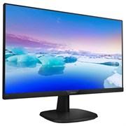 "(1014876) Монитор Philips 27"" 273V7QDSB (00, 01) черный IPS LED 16:9 DVI HDMI матовая 250cd 1920x1080 D-Sub FHD 4.5кг"