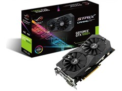 (1014874) Видеокарта Asus PCI-E STRIX-GTX1050TI-4G-GAMING NV GTX1050TI 4096Mb 128b GDDR5 1290/7008 DVIx2/HDMIx